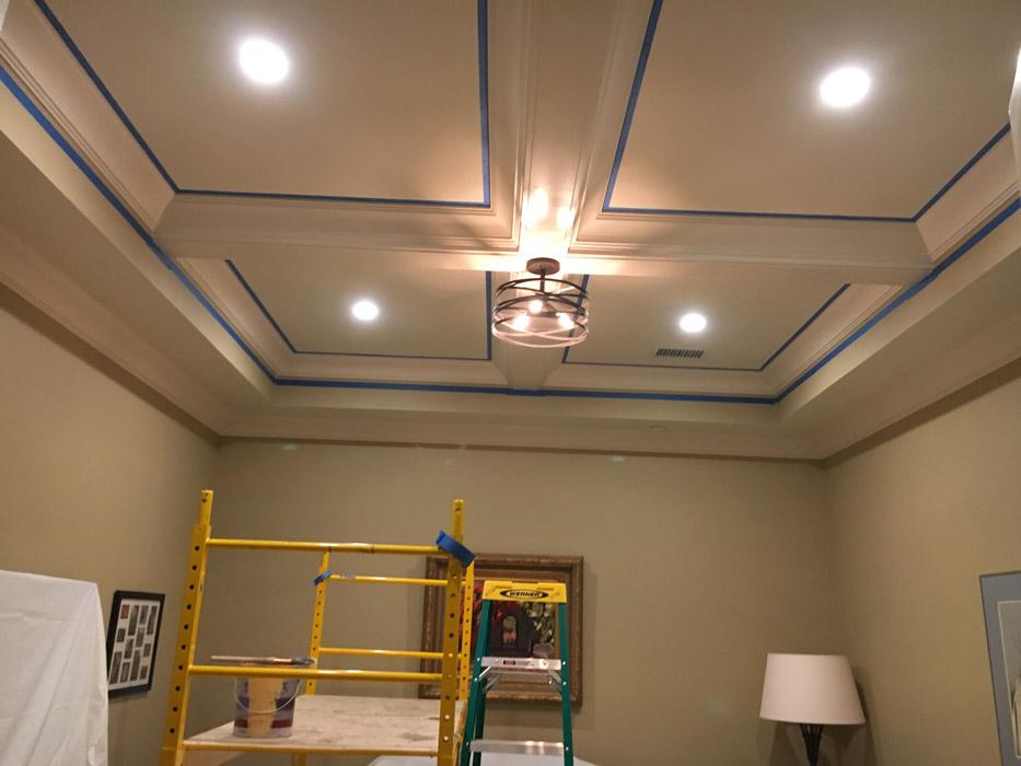 ceiling beam prep