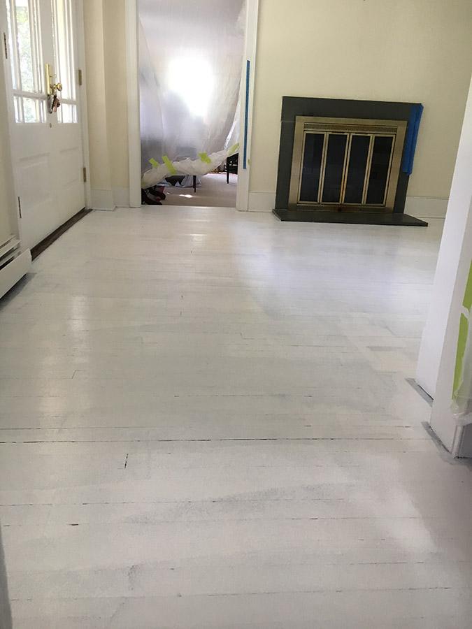Fully Primed Wood Floor